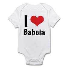 I 'heart' Babcia bodysuit