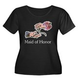 Handfasting Maid of Honor Women's Plus Size Scoop