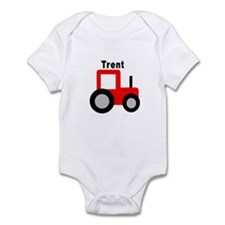 Trent - Red Tractor Infant Bodysuit