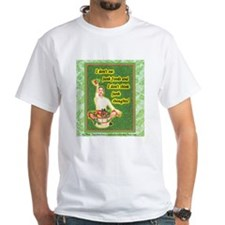 T-Shirt: I don't eat junk or think junk