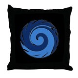 Wave - Throw Pillow