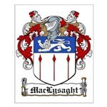 MacLysaght Family Crest Small Poster