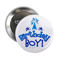 "Birthday Boy 2.25"" Button"