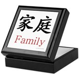 Family Symbol Keepsake Box