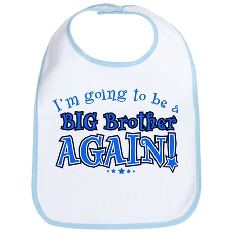 I'm Going To Be A Big Brother Again Bib