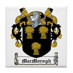MacMorogh Family Crest Tile Coaster