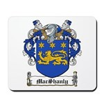 MacShanly Family Crest Mousepad