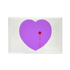 Bleeding Heart Rectangle Magnet (100 pack)