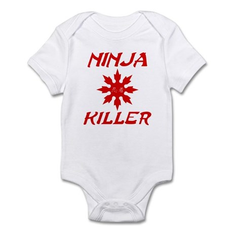 Ninja Killer Infant Bodysuit