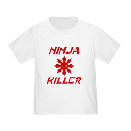Ninja Killer Toddler T-Shirt