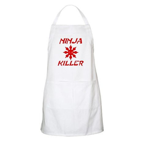Ninja Killer BBQ Apron