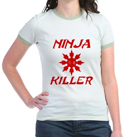Ninja Killer Jr Ringer T-Shirt
