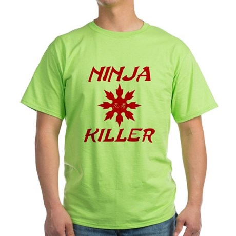 Ninja Killer Green T-Shirt