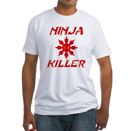Ninja Killer Fitted T-Shirt