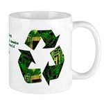E-recycling Nerds, Geeks & Dweebs Mug