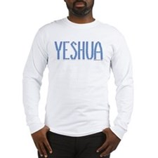 Shalom In Yeshua Long Sleeve T-Shirt