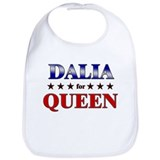 DALIA for queen Bib