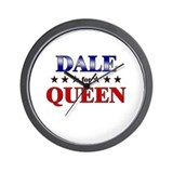 DALE for queen Wall Clock
