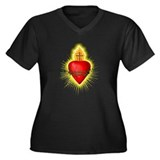 Sacred Heart / Sacred Art Women's Plus Size V-Neck