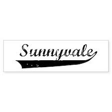 Sunnyvale (vintage) Bumper Bumper Sticker