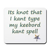 Kant Type Mousepad