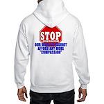 Stop Liberalism Conservative Hooded Sweatshirt