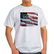 America Bless God! Ash Grey T-Shirt