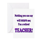Cute Retired teacher Greeting Cards (Pk of 10)