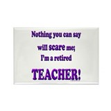 Funny Retirement Rectangle Magnet