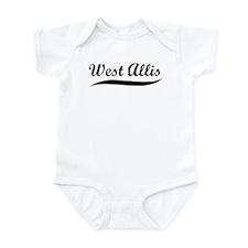 West Allis (vintage] Infant Bodysuit