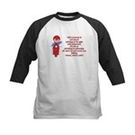 Life's Journey Scooter Kids Baseball Jersey