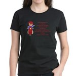 Life's Journey Scooter Women's Dark T-Shirt