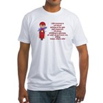 Life's Journey Scooter Fitted T-Shirt