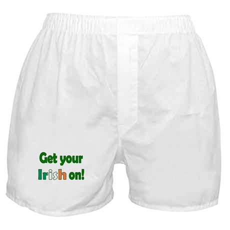 Get Your Irish On Boxer Shorts