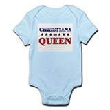 CHRISTIANA for queen Onesie