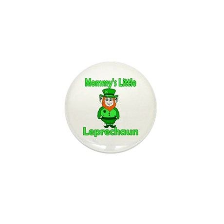 Mommy's Little Leprechaun Mini Button (10 pack)