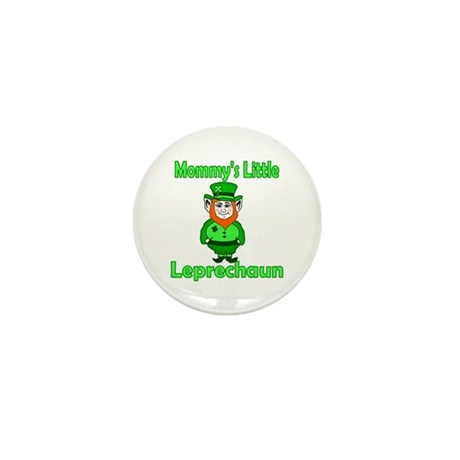 Mommy's Little Leprechaun Mini Button