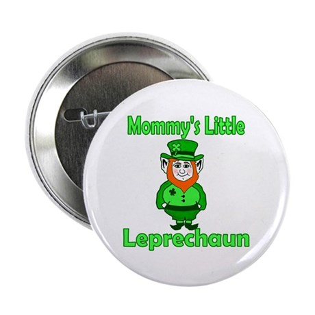 "Mommy's Little Leprechaun 2.25"" Button (10 pack)"