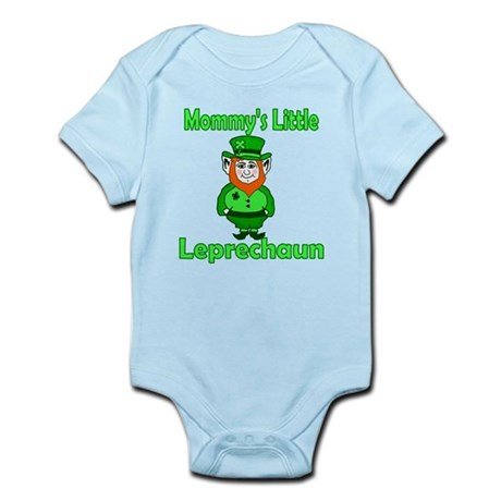 Mommy's Little Leprechaun Infant Bodysuit