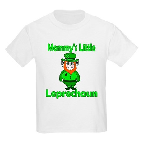 Mommy's Little Leprechaun Kids Light T-Shirt