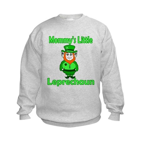 Mommy's Little Leprechaun Kids Sweatshirt