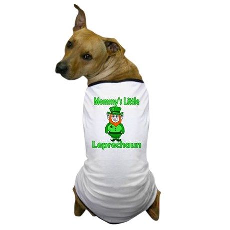 Mommy's Little Leprechaun Dog T-Shirt