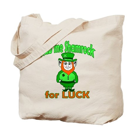 Funny Leprechaun Irish Tote Bag