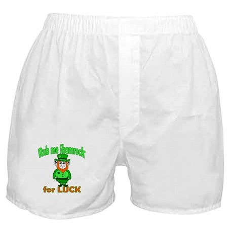 Funny Leprechaun Irish Boxer Shorts