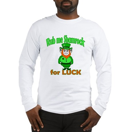 Funny Leprechaun Irish Long Sleeve T-Shirt