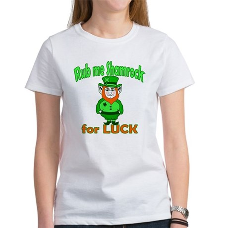 Funny Leprechaun Irish Women's T-Shirt