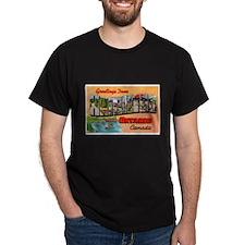 Hamilton Ontario Canada Greetings (Front) T-Shirt