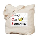 Sweep out Santorum Tote Bag