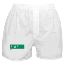 6th Street in NY Boxer Shorts