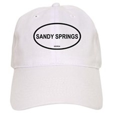 Sandy Springs Oval Baseball Cap
